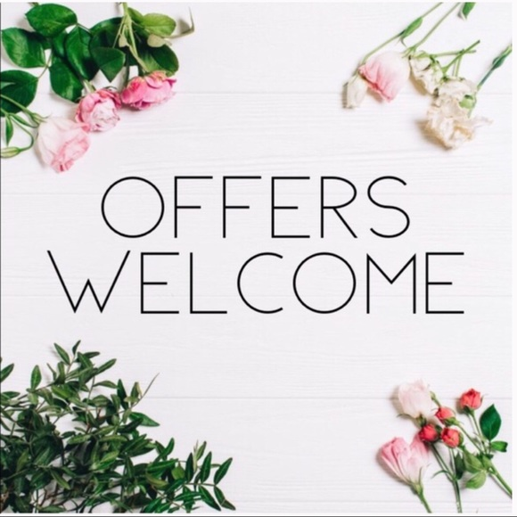 Welcome offers!